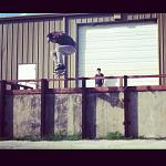 ollie over the rail, I still need to get the 180